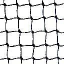 Siatka polietylenowa na górę woliery oczko 4 x 4 cm na wymiar - czarna