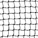 Siatka polietylenowa na woliery i wybiegi oczko 2,5 x 2,5 cm na wymiar - czarna