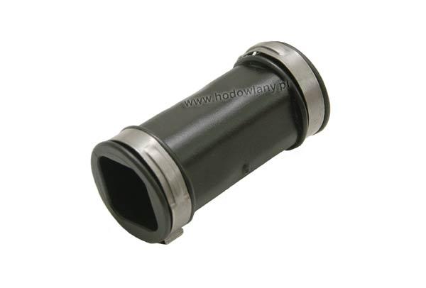 Złączka gumowa prosta z opaskami na rurę 22 x 22 mm - zdjecie 1