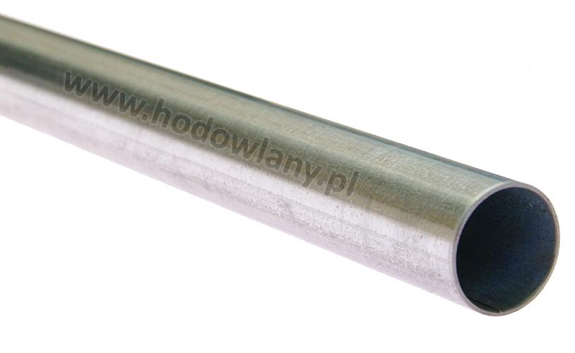Rura nośna okrągła ocynkowana fi 26,75 mm do systemów pojenia 2 mb - zdjecie 1