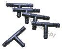 Trójnik węża fi 7 mm do systemów pojenia - łącznik T - zdjecie 2