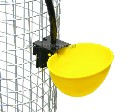 Automatyczne poidło miseczkowe dla drobiu grawitacyjne