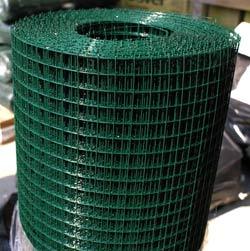 Siatka na gołębnik zgrzewana powlekana PVC oczko 13x13mm
