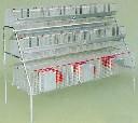 Segment mieszany klatek dla królików 3M + 2x8 ECON-MIX Kompletne