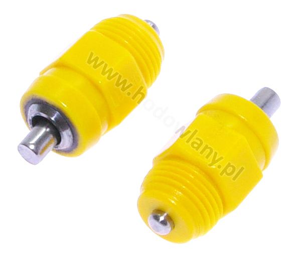 Nipel gruby M12 Drink09 plastikowy ruchowy w poziomie i pionie przepływ 40-50 cm3/min - zdjecie 1