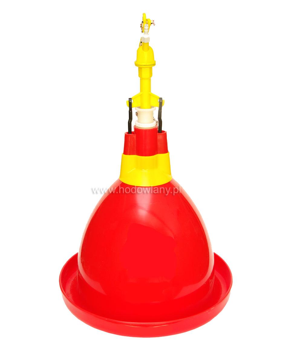 Automatyczne poidło dzwonowe dla brojlerów, kaczek i niosek