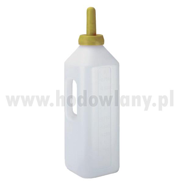 Butelka do pojenia cieląt z uchwytem i podziałką 3l