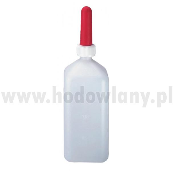 Butelka do pojenia cieląt z podziałką 2l