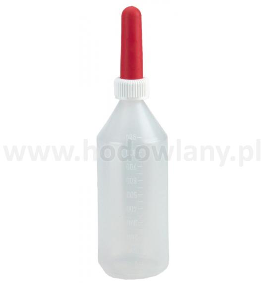 Butelka do pojenia cieląt z podziałką 1l