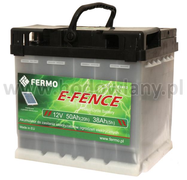 Akumulator do pastucha 50 Ah głębokiego rozładowania - zdjecie 1