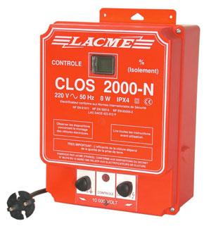 Elektryzator ogrodzenia pastwisk CLOS 2000 N inteligentny