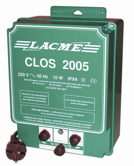 Supermocny Elektryzator sieciowy LACME CLOS 2005 (6000mJ)