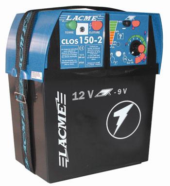 Elektryzator akumulatorowy LACME CLOS 150-2 Supermocny - zdjecie 1
