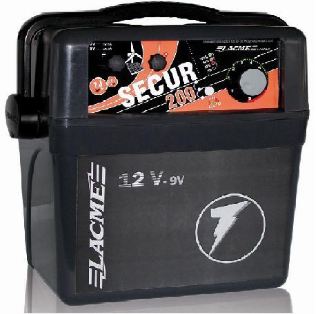 Mocny pastuch dla bydła akumulatorowy  LACME Secur 200