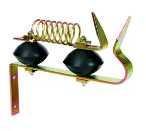 Odgromnik ogrodzenia elektrycznego z dwoma izolatorami - zdjecie 1