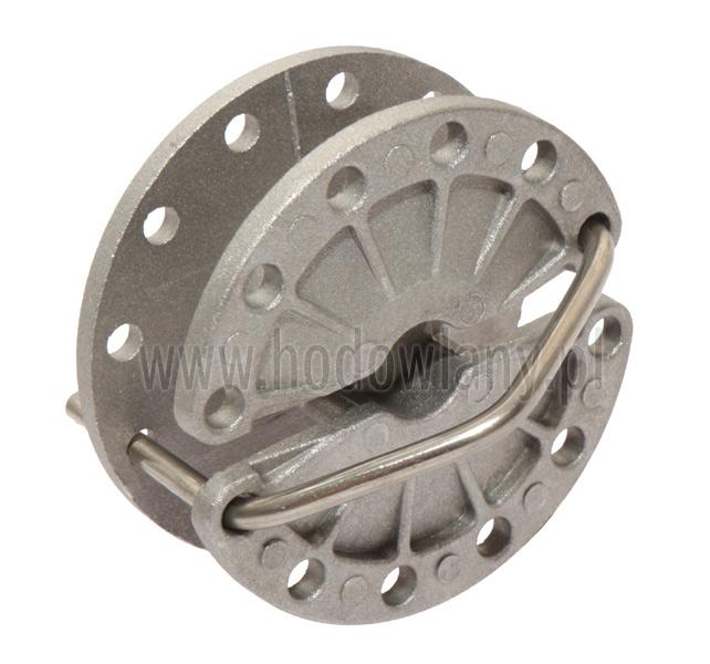 Napinacz do drutu metalowy okrągły - zdjecie 1