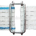 Łącznik metalowy taśmy 4cm - zdjecie 1