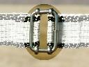Łącznik metalowy taśmy 4cm - zdjecie 2