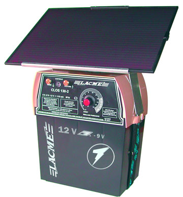 Pastuch CLOS SOLIS  1000mJ + bateria słoneczna 6W