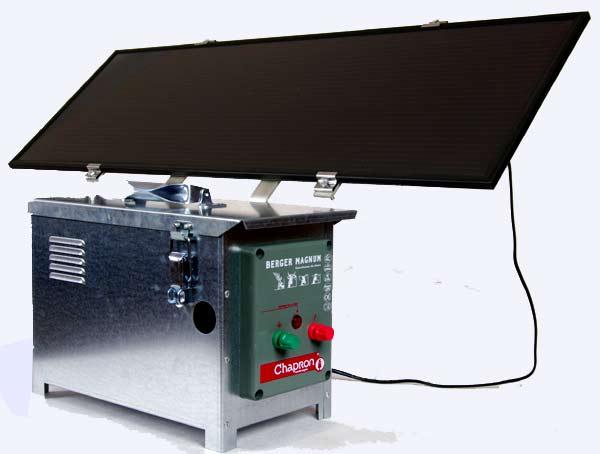 Pastuch elektryczny Berger Magnum Solar Supermocny - zdjecie 1