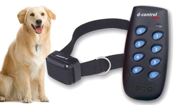 Elektroniczna obroża na pilota d-Control Easy dla psów w wersji standardowej
