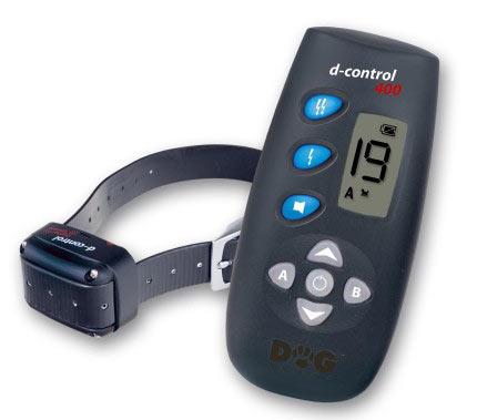Elektroniczna obroża treningowa d-Control 400 na pilota z wyświetlaczem LCD