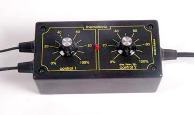 Termostat elektroniczny z nastawem analogowym - bardzo dokładny - zdjecie 1