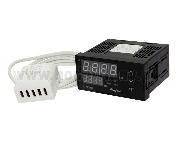 Elektroniczny regulator wilgotności PID profesjonalny TS-700RH - zdjecie 1