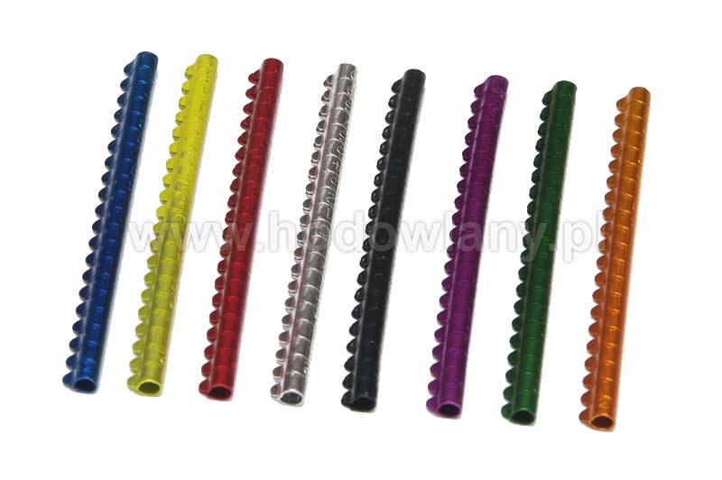 Obrączki aluminiowe 3mm, znaczniki dla mniejszych ptaków numerowane 20 sztuk - zdjecie 1
