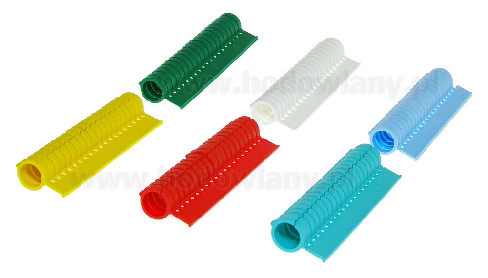 Obrączki dla bażantów mRings 12 mm w blistrze 20 szt. 6 kolorów - zdjecie 1