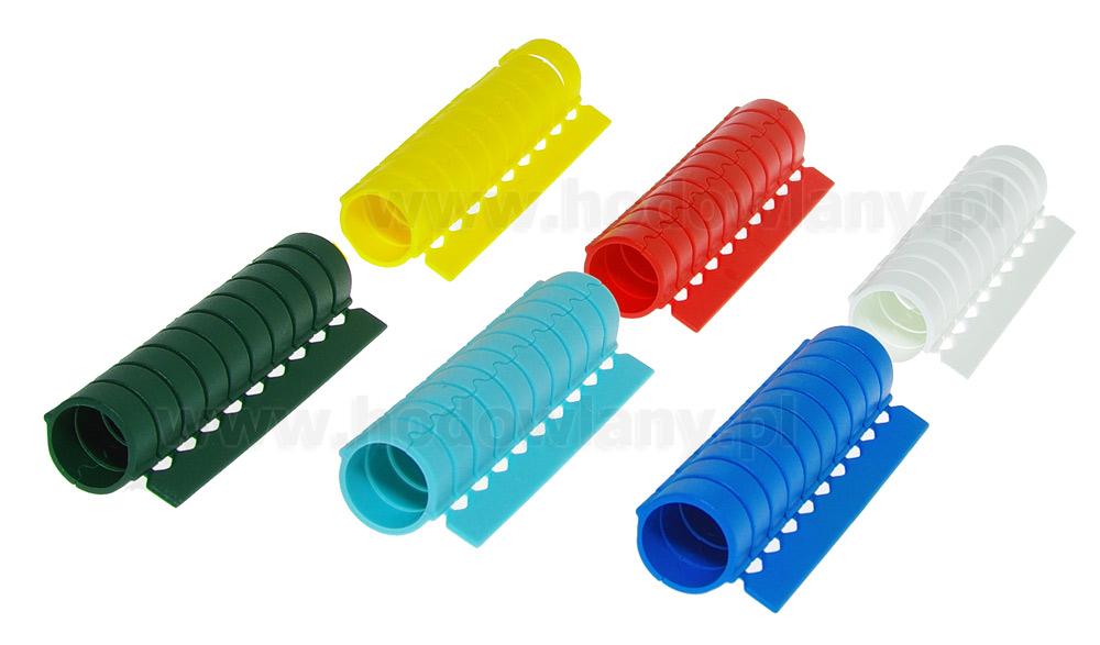 Znaczniki obrączki dla kur mRings 16 mm w blistrze 10 szt. 6 kolorów - zdjecie 1