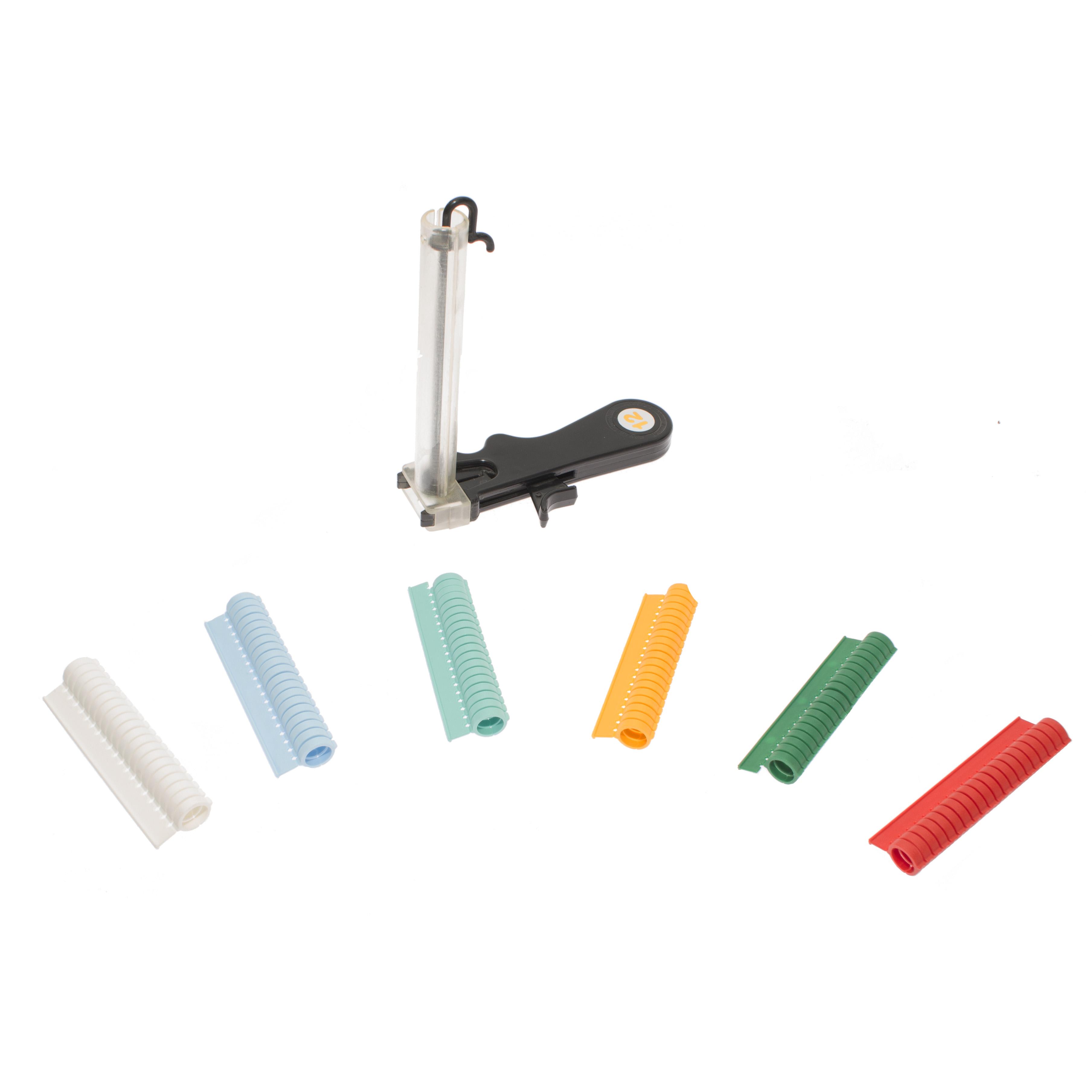 Zestaw do znakowania bażantów aplikator + 100 obrączek 12 mm  - zdjecie 1