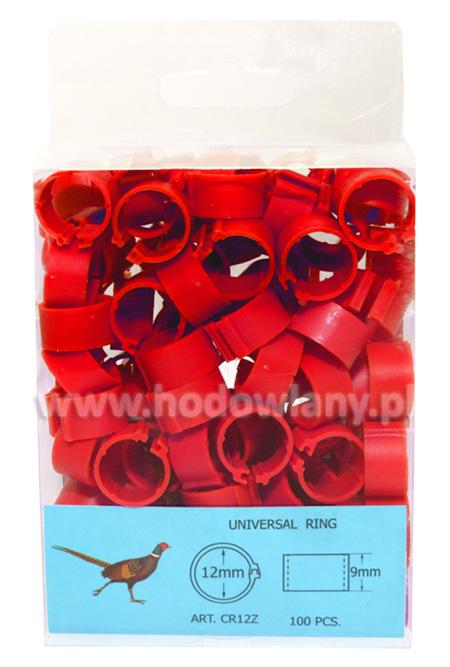 Obrączki, znaczniki 12mm dla bażantów 100 sztuk - zdjecie 1