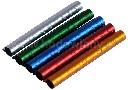 Obrączki aluminiowe 8mm kolorowe dla ptaków numerowane 10szt - zdjecie 2