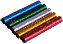 Obrączki aluminiowe 10mm kolorowe dla większych ptaków numerowane 10szt - zdjecie 2