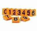 Cyfry numery do obroży identyfikacyjnej dla bydła 1 szt