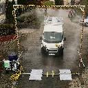 Brama do zamgławiania kurtyna bioasekuracyjna do dezynfekcji pojazdów 400 x 470 cm