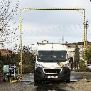Brama do zamgławiania kurtyna bioasekuracyjna do dezynfekcji pojazdów 400 x 470 cm - zdjecie 2