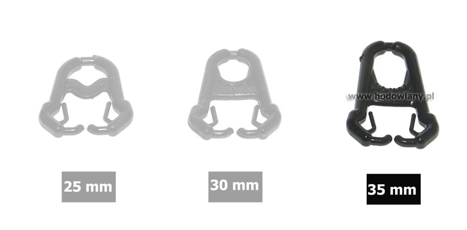 Nakładki na dzioby dla ptactwa ozdobnego Nostril 35 mm blister 33 szt. - zdjecie 1