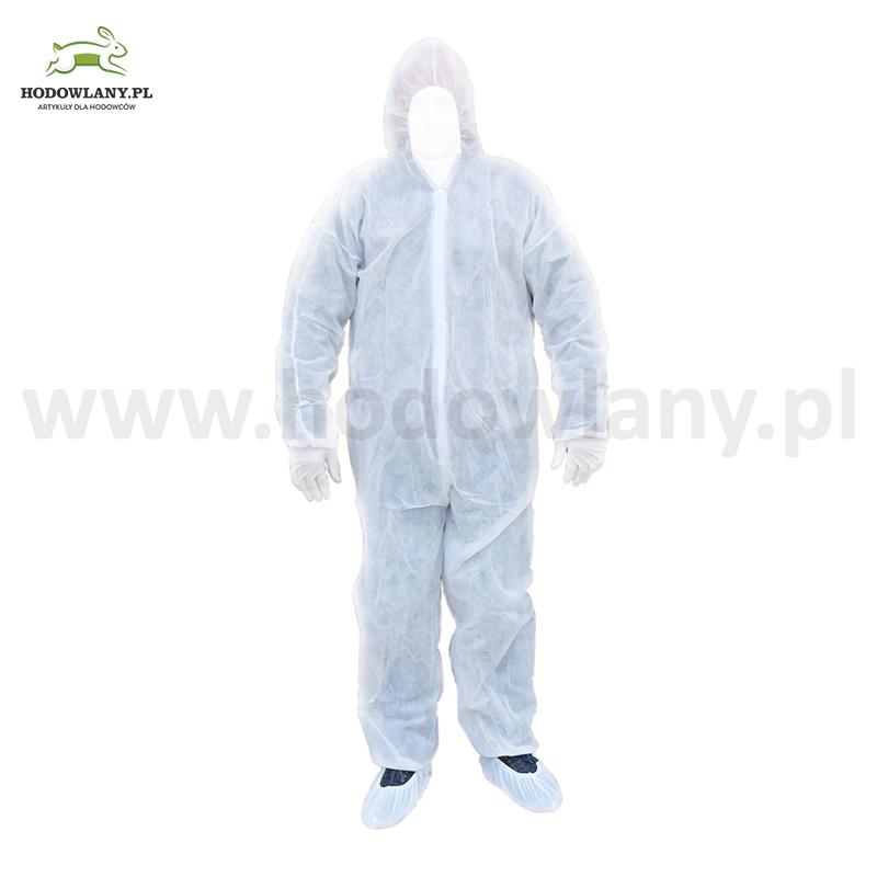 Zestaw odzieży ochronnej jednorazowej XL - zdjecie 1