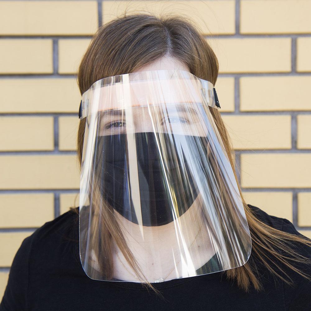 Przyłbica ochronna osłona na twarz - zdjecie 1