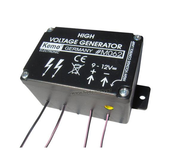 Mini elektryzator zasilany bateryjnie - generator impulsów elektrycznych - zdjecie 1
