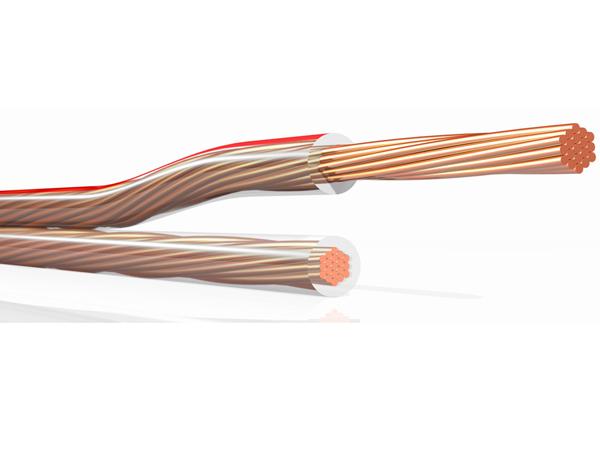 Przewód dwużyłowy, kabel  do połączenia piezogłośników odstraszacza uniwersalnego - zdjecie 1