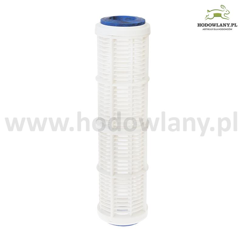 Wkład siatkowy 50  mikronów do filtrów wodnych rurowych 10 cali