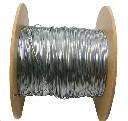 Linka stalowa fi 1,2 mm rolka 100 m do pastucha elektrycznego