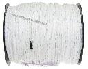 Lina do ogrodzeń elektrycznych fi 5 mm biała 200 m - zdjecie 3