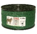 Taśma zielona do pastuchów dla koni RUBAN 40 mm 500 m